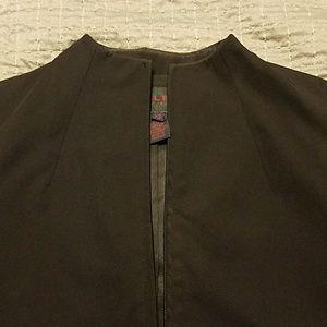 Ralph Lauren mock neck blazer